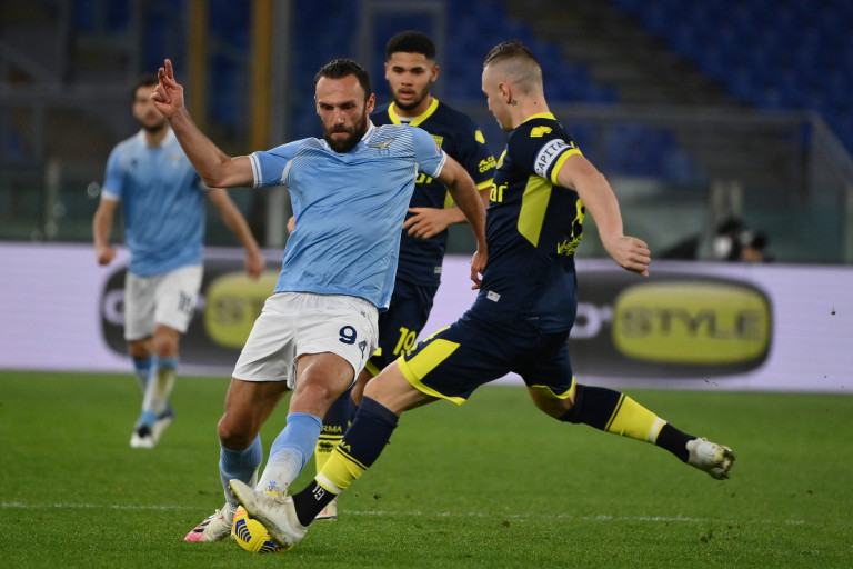 Vedat Muriqi - Lazio vs Parma - Ottavi di finale Coppa Italia