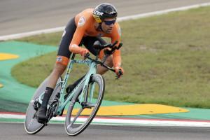 Tom Dumoulin. Mondiali ciclismo 2020 a Imola
