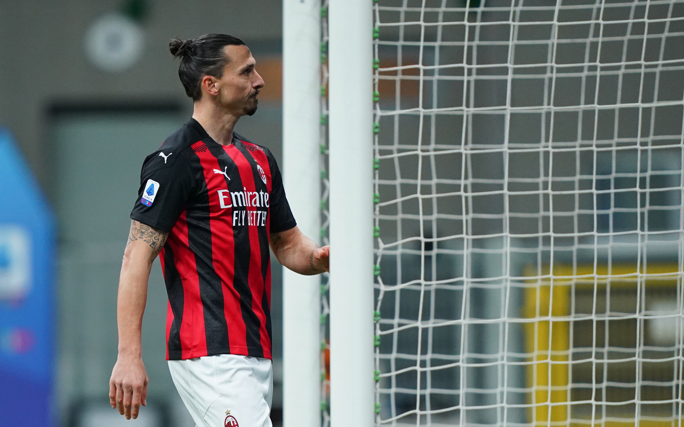 Zlatan Ibrahimovic - Milan vs Atalanta