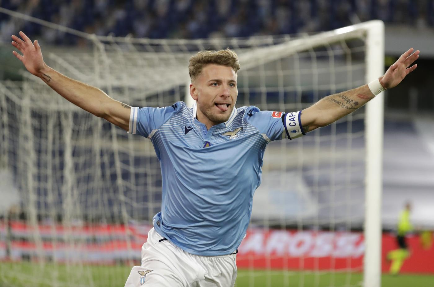 Ciro Immobile. Italy Soccer Serie A