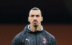 Zlatan Ibrahimovic. Milan vs Atalanta - Serie A TIM 2020/20211