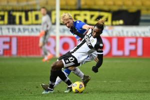 Yann Karamoh. Parma vs Sampdoria - Serie A TIM 2020/2021