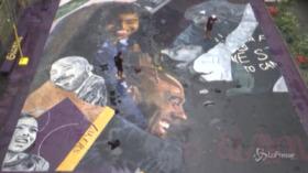 Filippine, un gigantesco murale per ricordare Kobe Bryant a un anno dalla morte