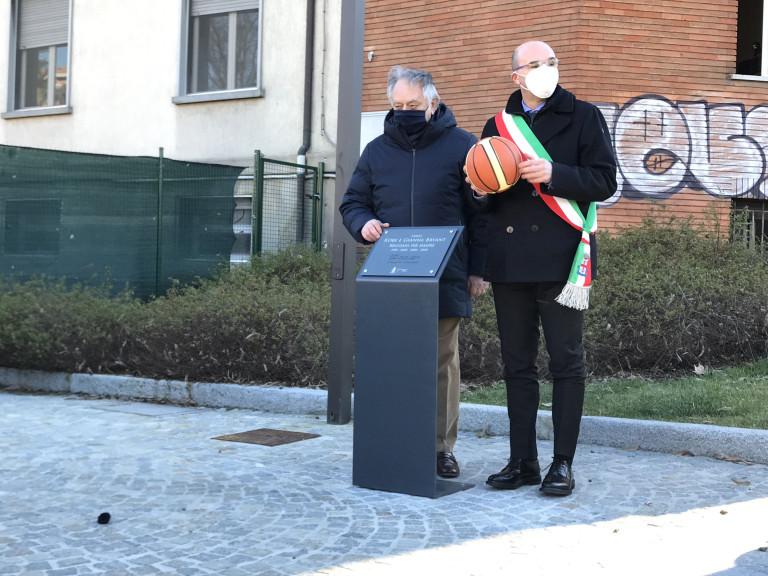 Largo Kobe Bryant, a Reggio Emilia la dedica al campione Nba