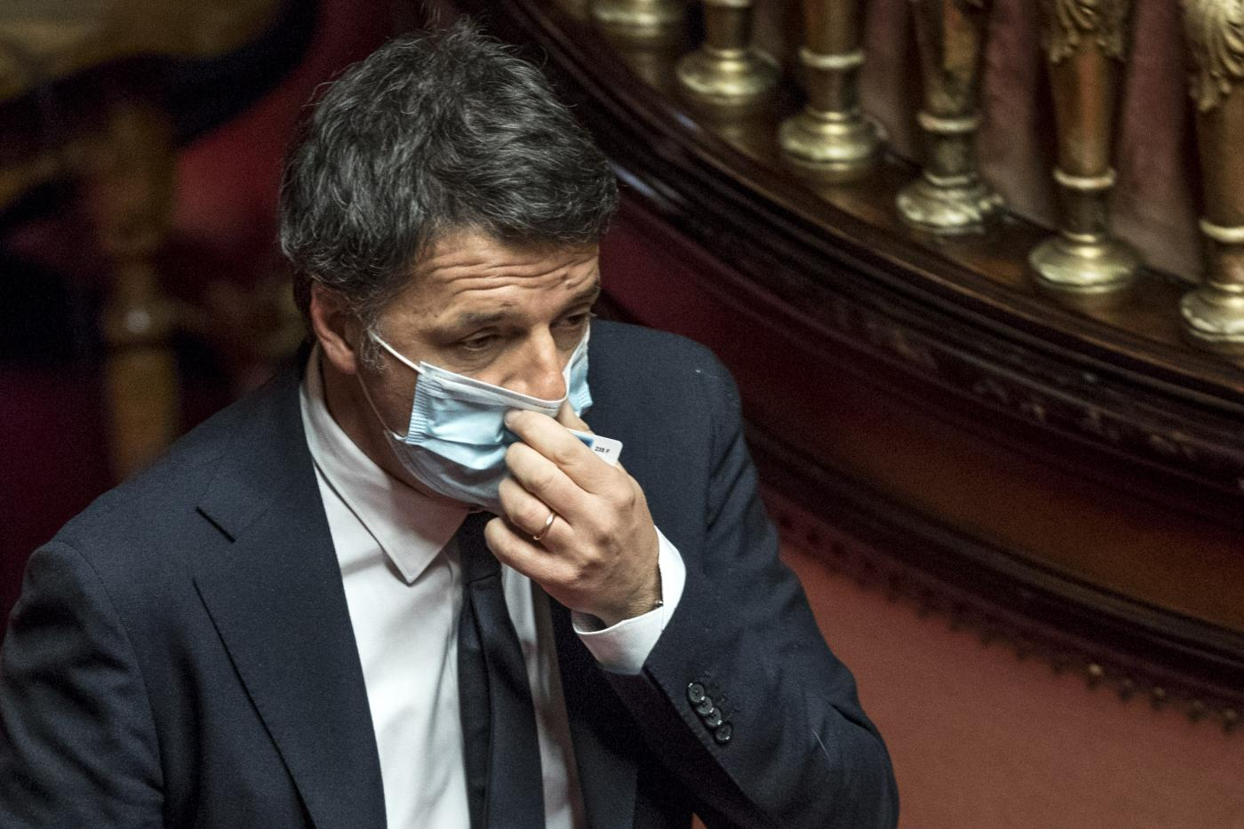 Senato - Scostamento di bilancio. Matteo Renzi