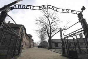 Ingresso cancello Aushwitz