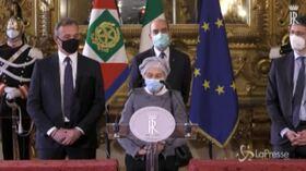 """Consultazioni, Bonino: """"No al Conte ter, serve maggioranza Ursula"""""""