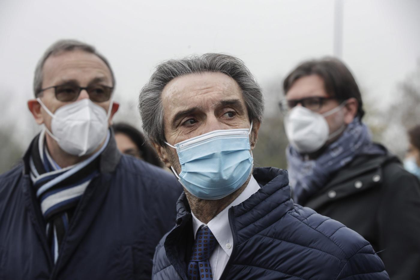 Attilio Fontana. Coronavirus, le immagini dal mondo in emergenza sanitaria