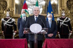 Crisi di governo, dichiarazioni di Sergio Mattarella al termine delle consultazioni