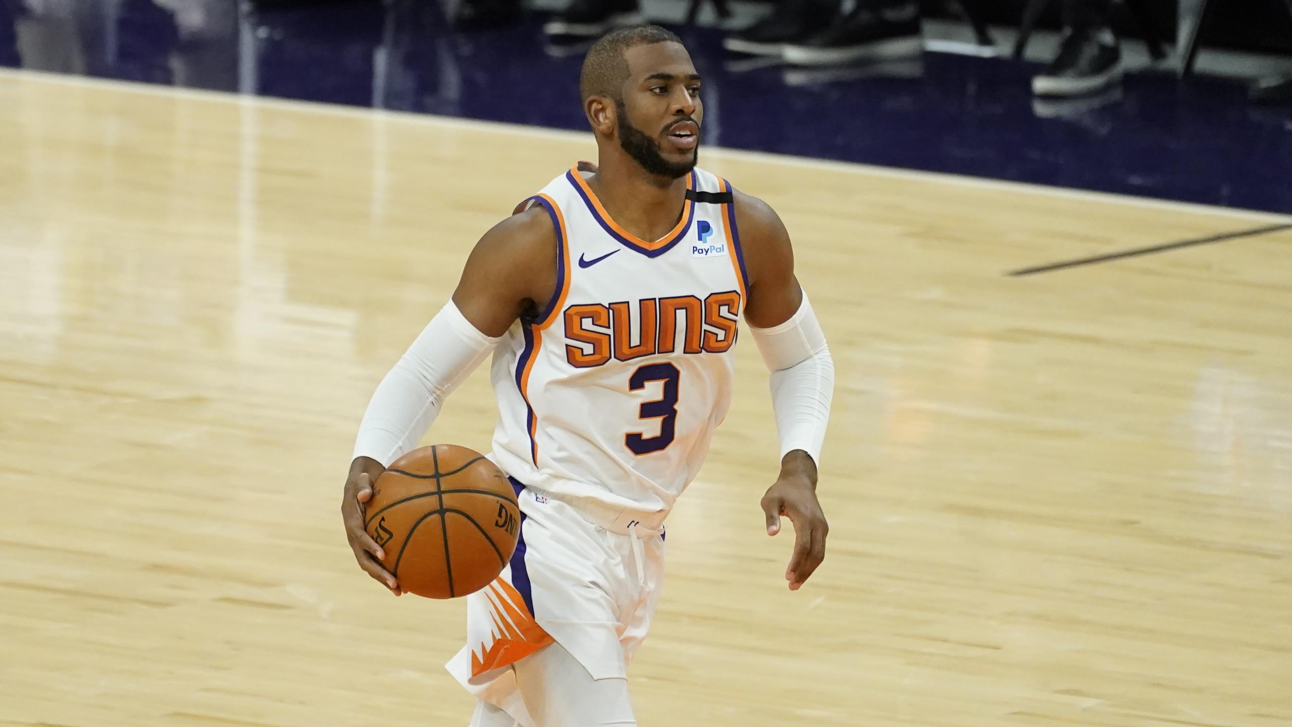 Warriors Suns Basketball - Phoenix Suns