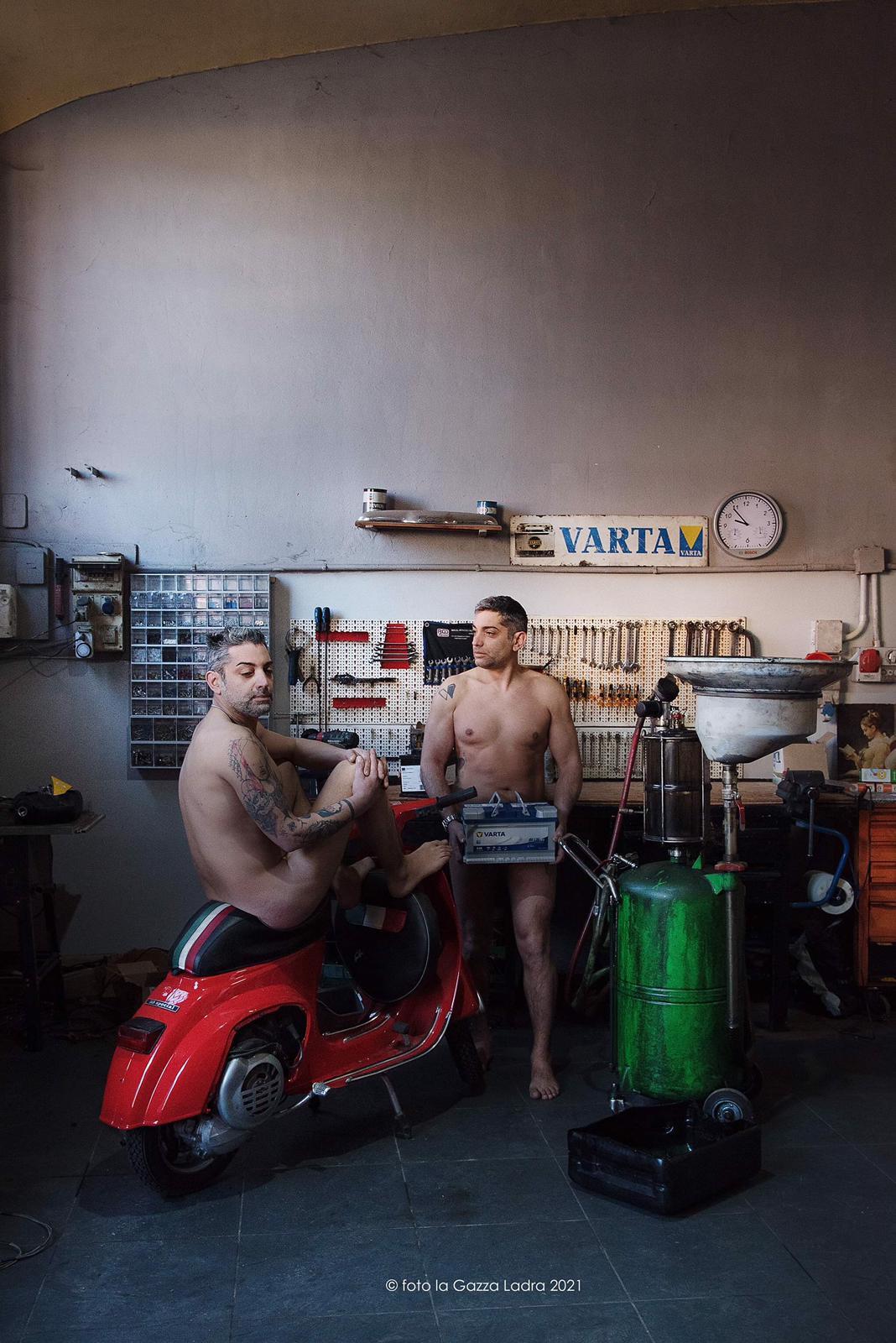 Cavaglià, calendario hot dei commercianti di Biella. Daniele Perotto