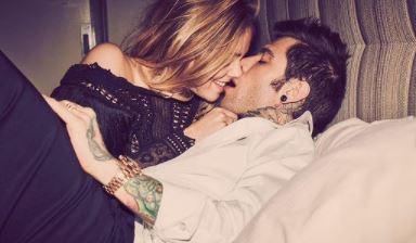 ferragnez. foto dei baci rubati a New York