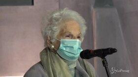 """Liliana Segre: """"Mi batto perché i carcerati siano vaccinati"""""""