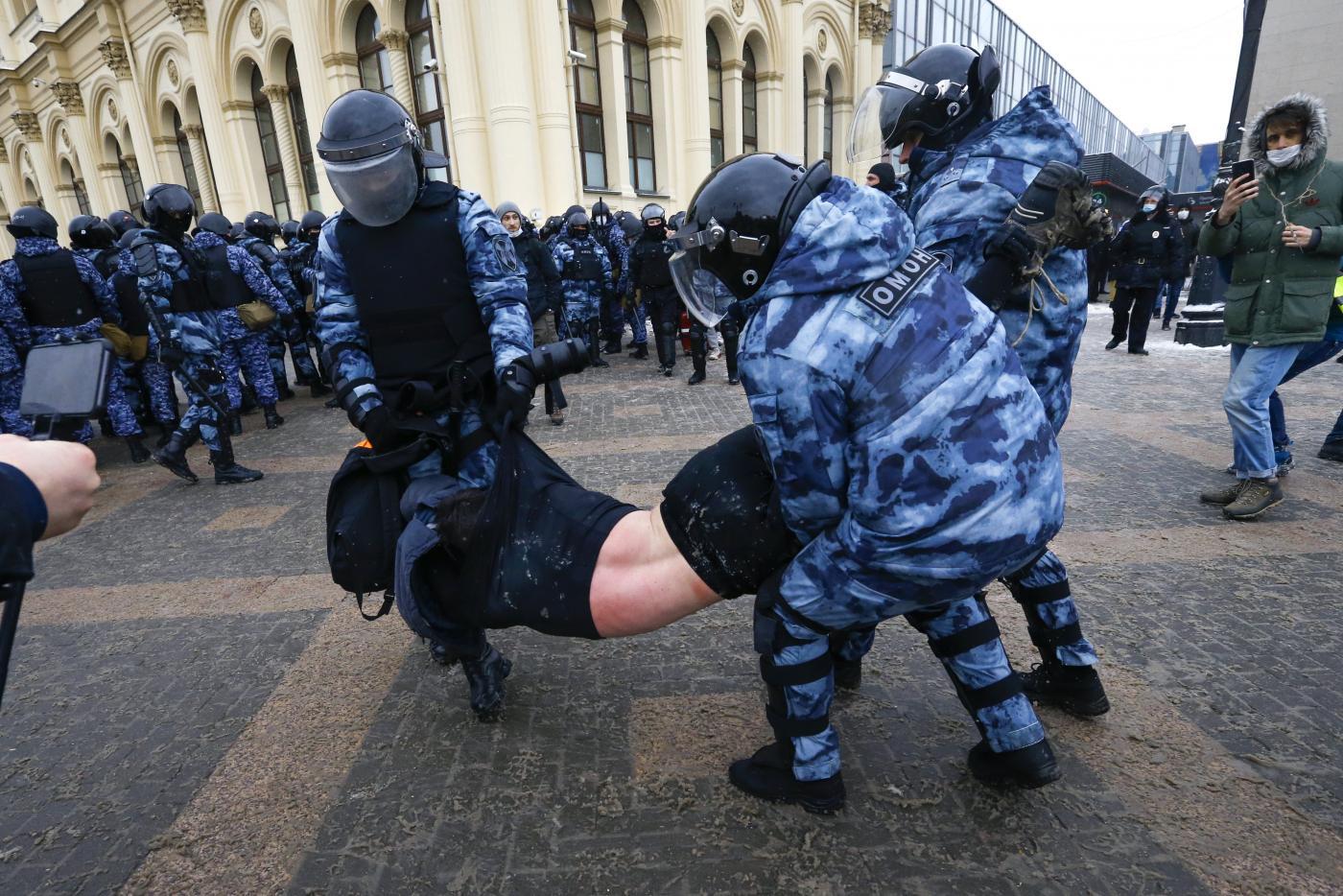 Mosca arresto