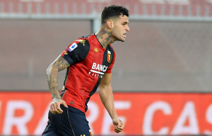 Scamacca Gianluca. Genoa vs Torino - Serie A TIM 2020/2021