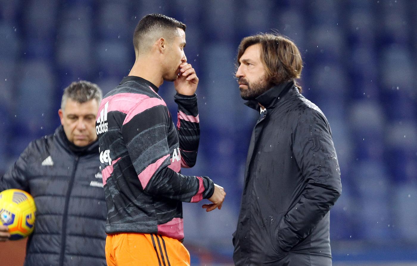Andrea Pirlo. Sampdoria vs Juventus