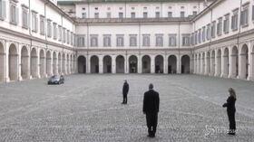 Quirinale, l'arrivo di Draghi