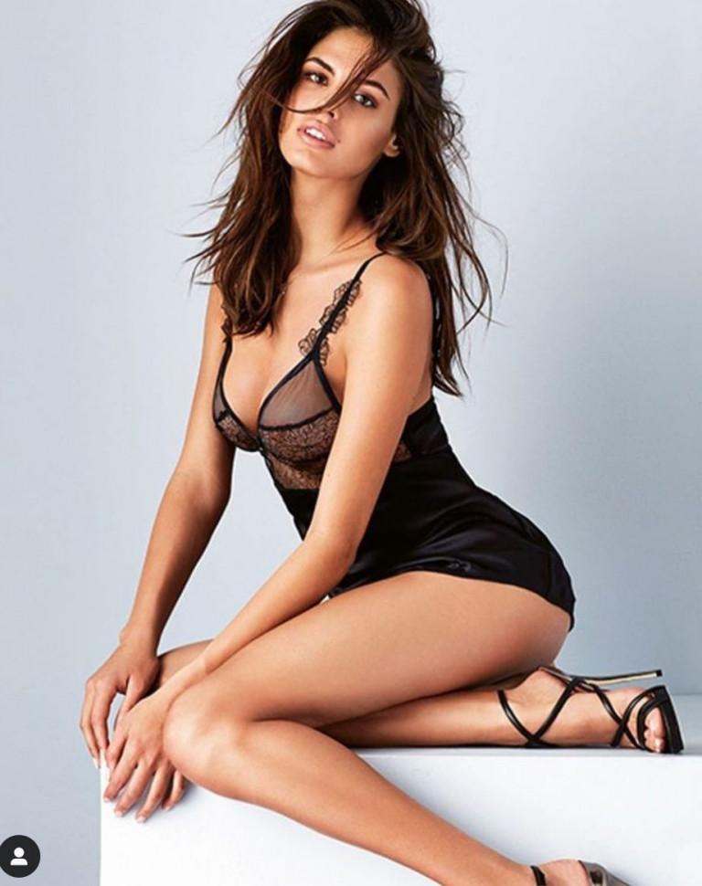 La modella Bojana Krsmanovic