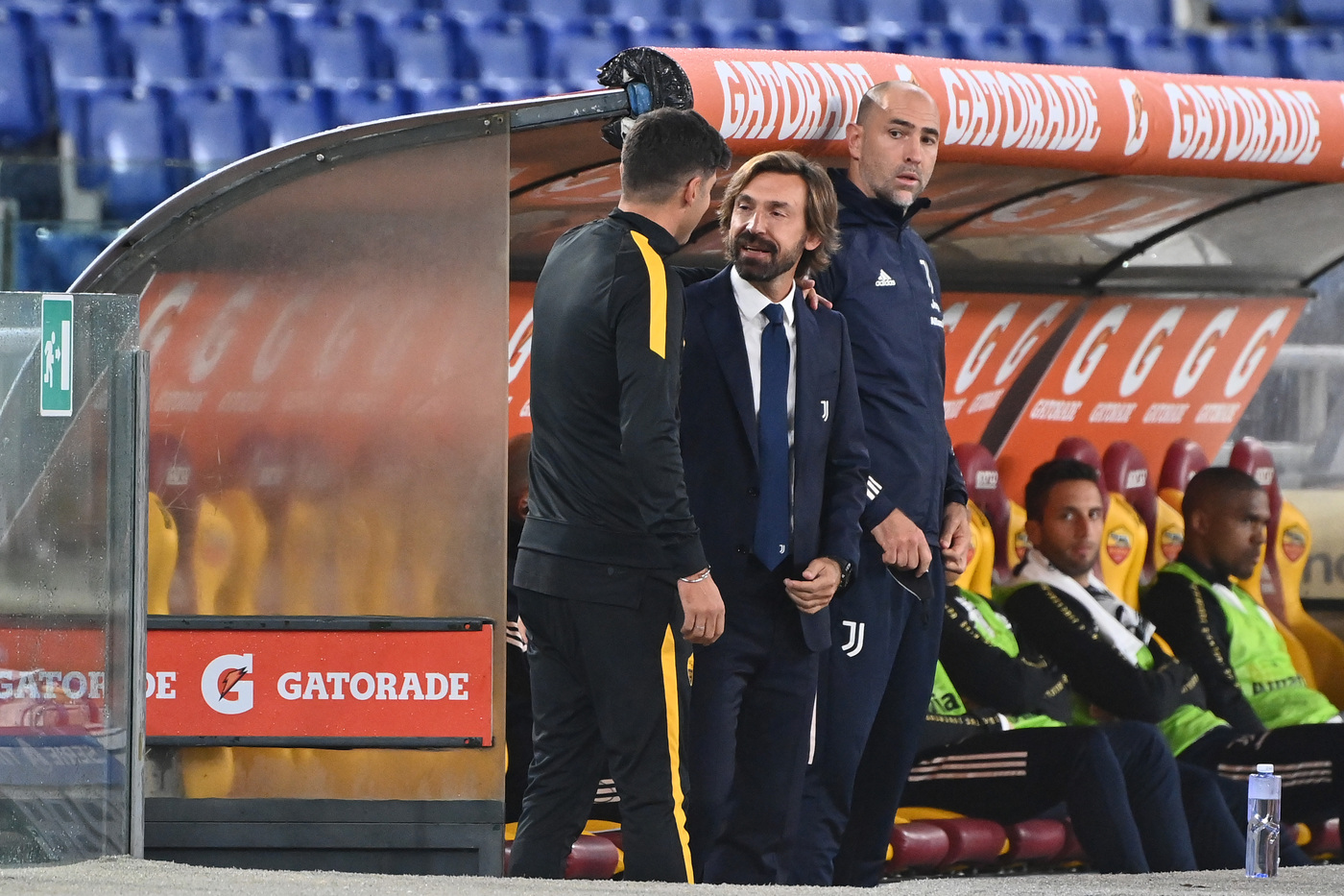 Roma-Juventus - Pirlo e Fonseca