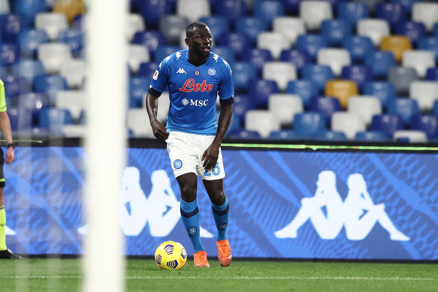 Napoli vs Spezia - Quarti di Finale - Coppa Italia - 2020/2021