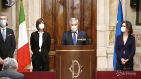 Antonio Tajani conferma il sostegno di Forza Italia