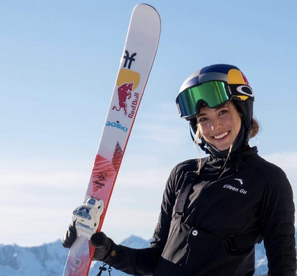 Eileen Gu, la star dello sci e più bella de reame