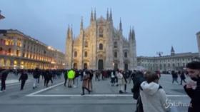 Milano, il centro torna a riempirsi
