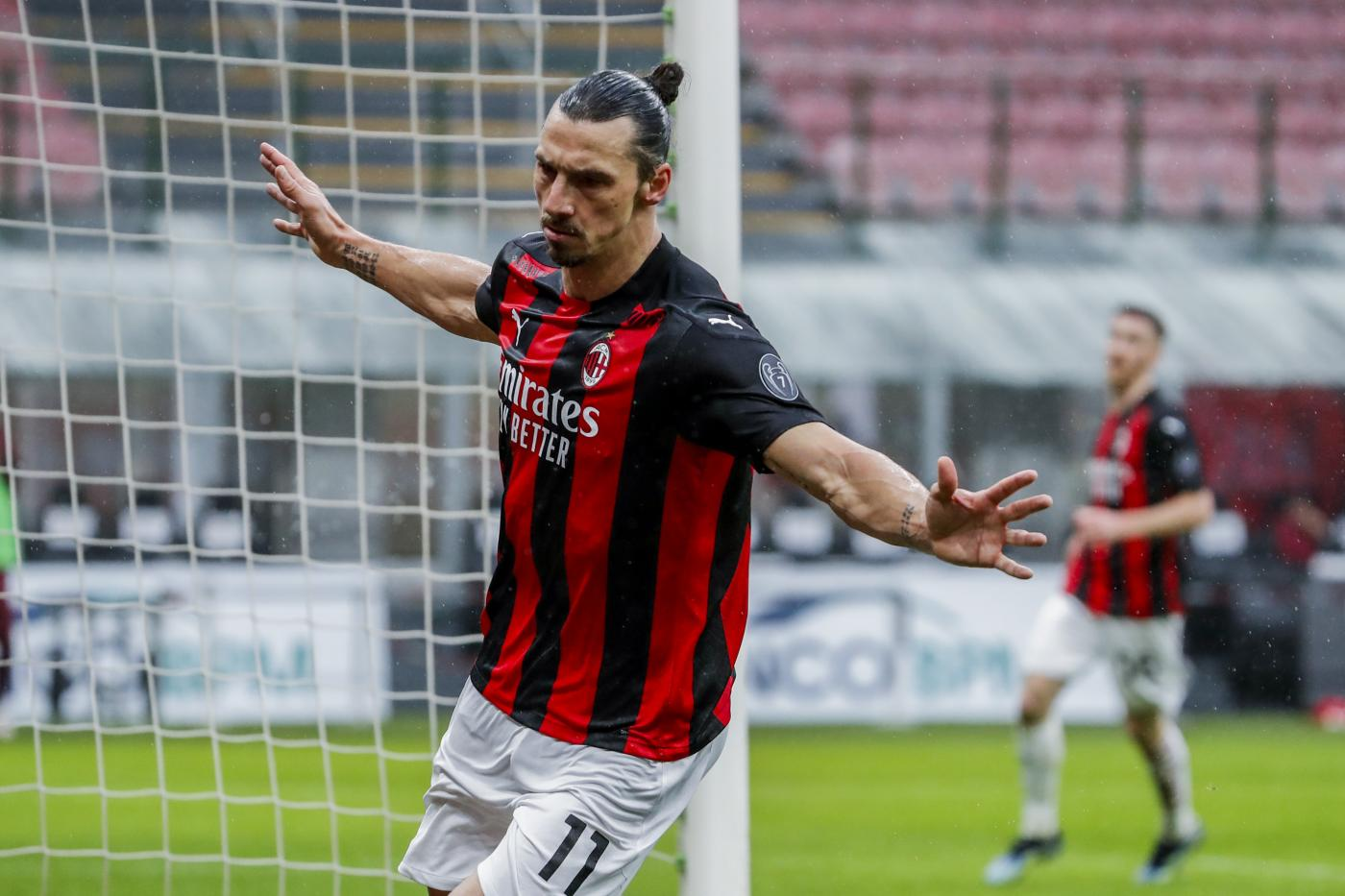 Zlatan Ibrahimovic - Italy Soccer Serie A