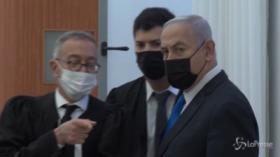 Netanyahu in tribunale per rispondere di corruzione