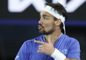 Australian Open: Fognini al secondo turno, ora il derby con Caruso
