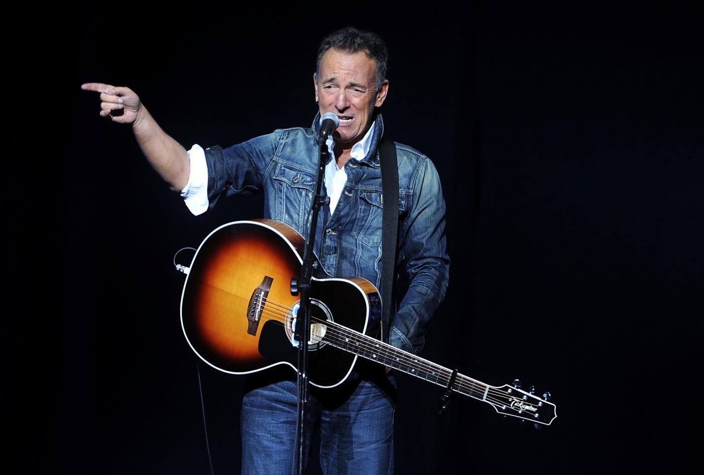 Musica, Bruce Springsteen arrestato per guida in stato di ebbrezza