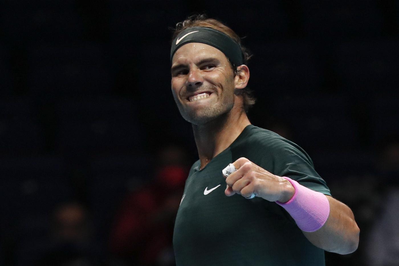 Tennis ATP Finals 2020, Rafael Nadal vs Stefanos Tsitsipas