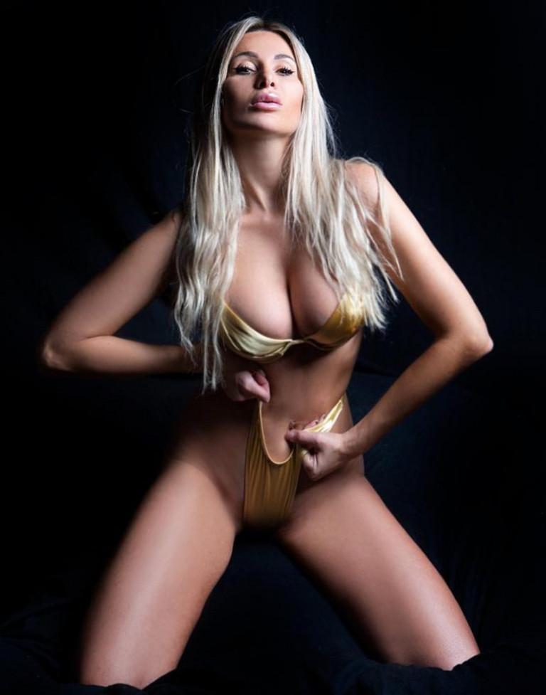 La modella Giulia Cobez (fonte Instagram)