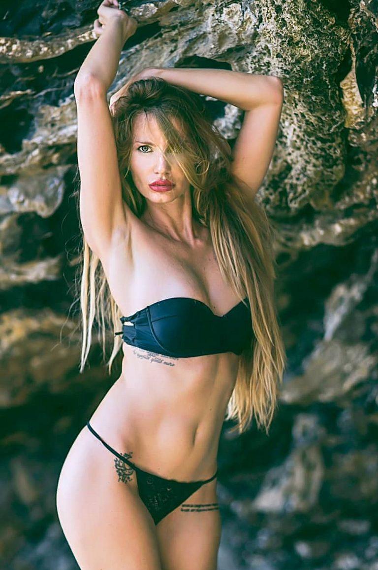 La modella Stefania Saettone (fonte Instagram)