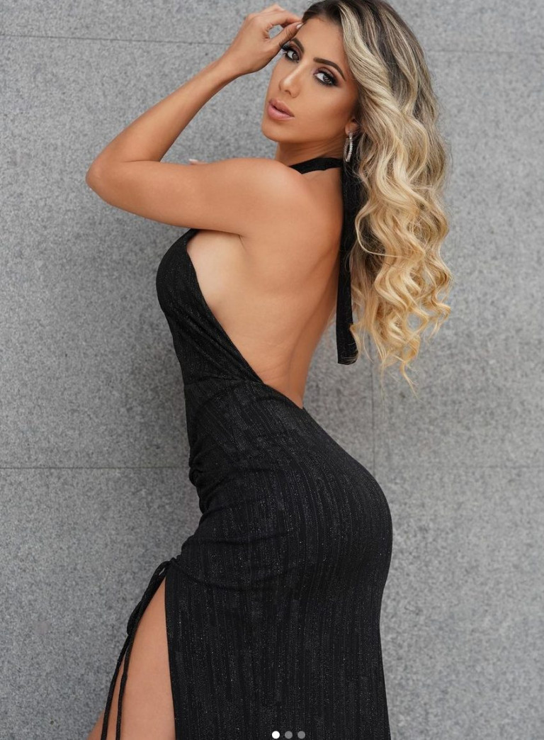 La modella Valeria Orsini (fonte Instagram)