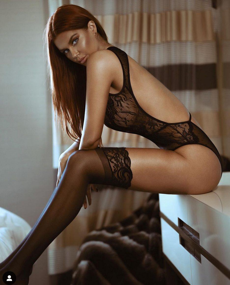 La modella Jessa Hinton intimo hot