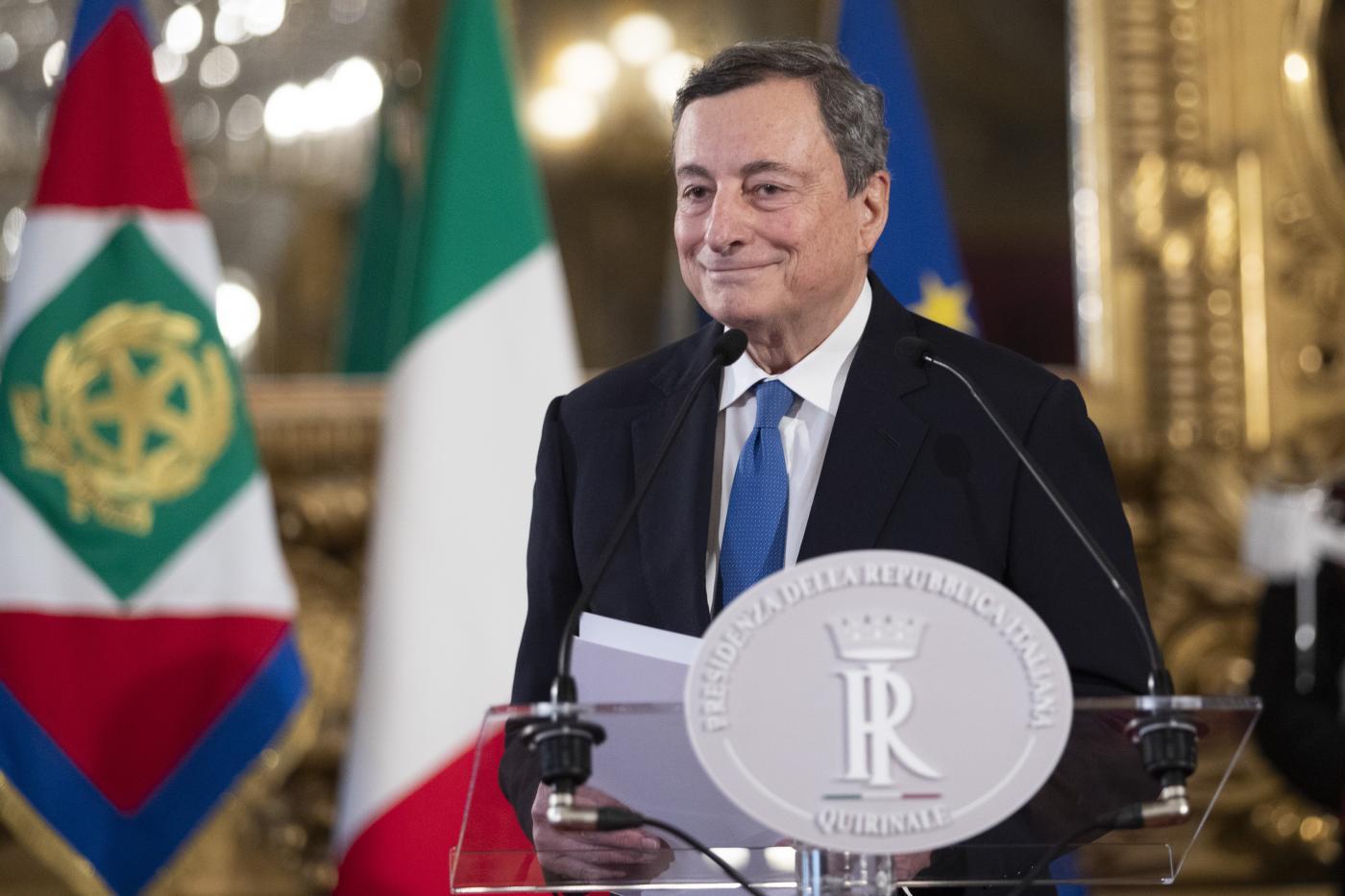 Governo, Quirinale: Mattarella riceverà Draghi alle 19