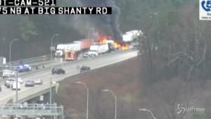 maxi-incidente vicino a Atlanta