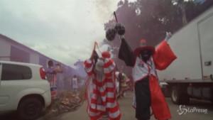 A Rio va in scena il Carnevale di strada delle Bate-bolas