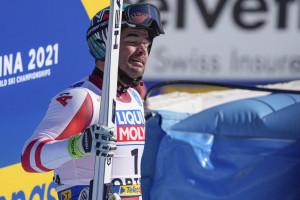 Kriechmayr vince l'oro in discesa.