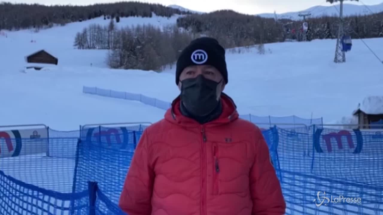 Stop sci, la protesta dei gestori degli impianti a Livigno