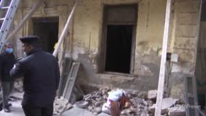 Crolla edificio al Cairo