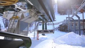 Stop a stagione sciistica