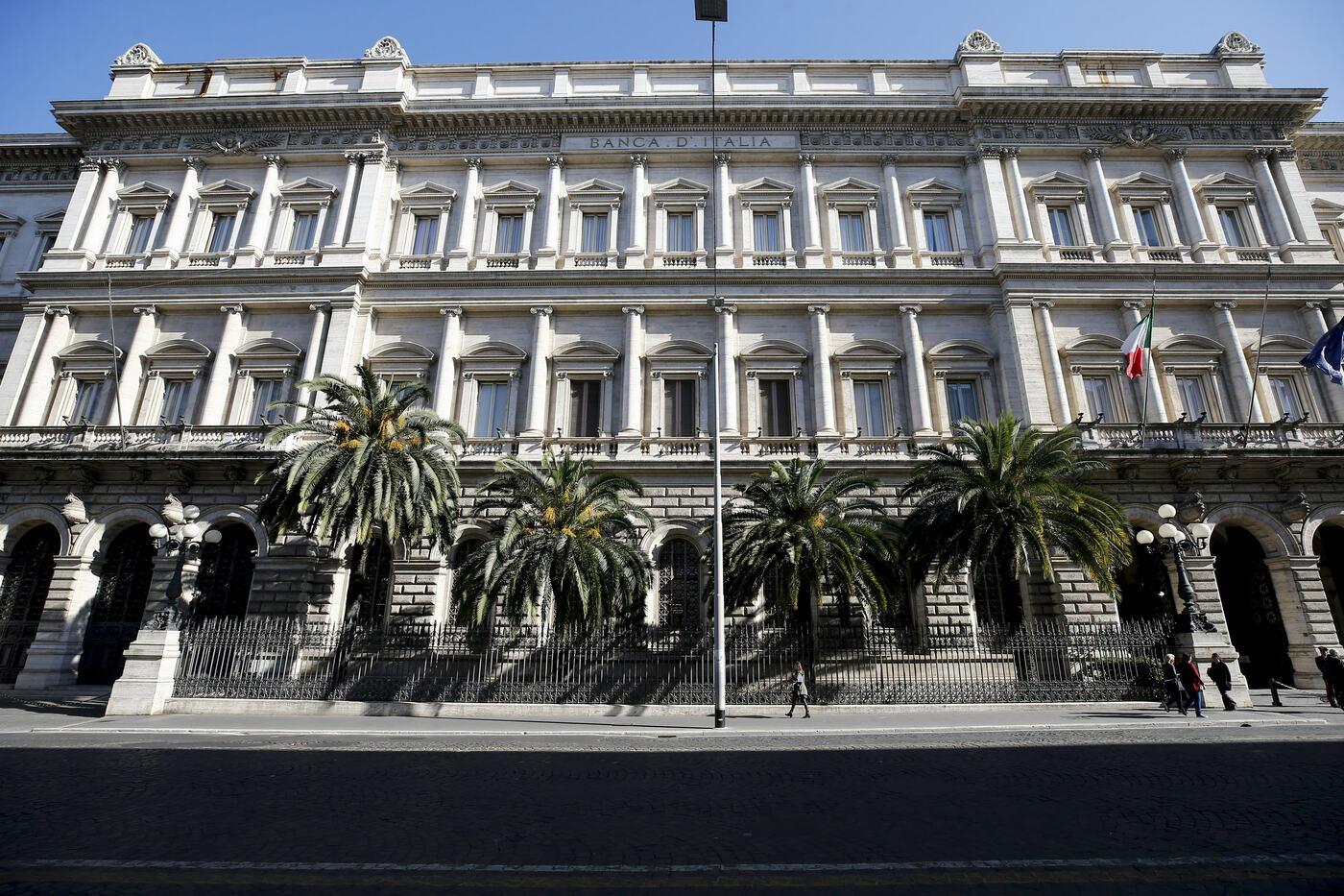 Roma Palazzo Koch, sede della Banca d'Italia, in Via Nazionale