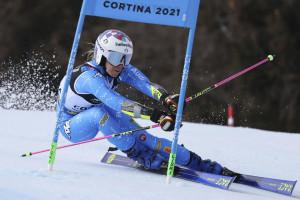 Mondiali Cortina 2021, Bassino oro nel parallelo: prima medaglia Italia