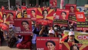 Myanmar, ancora proteste contro il colpo di stato