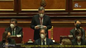 Draghi ringrazia Conte
