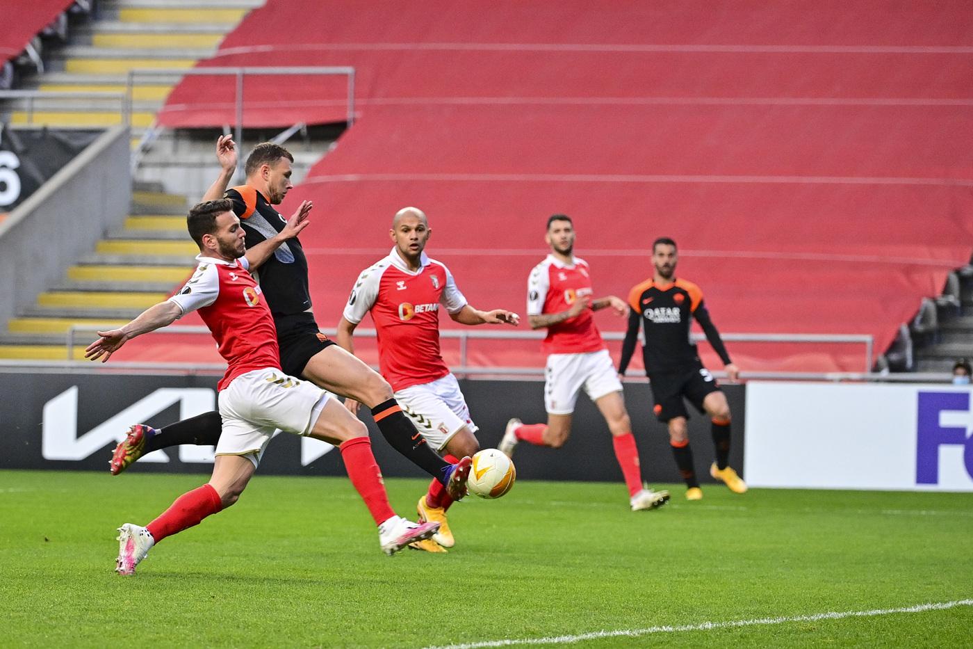 Sporting Braga vs Roma - Europa League, sedicesimi di finale