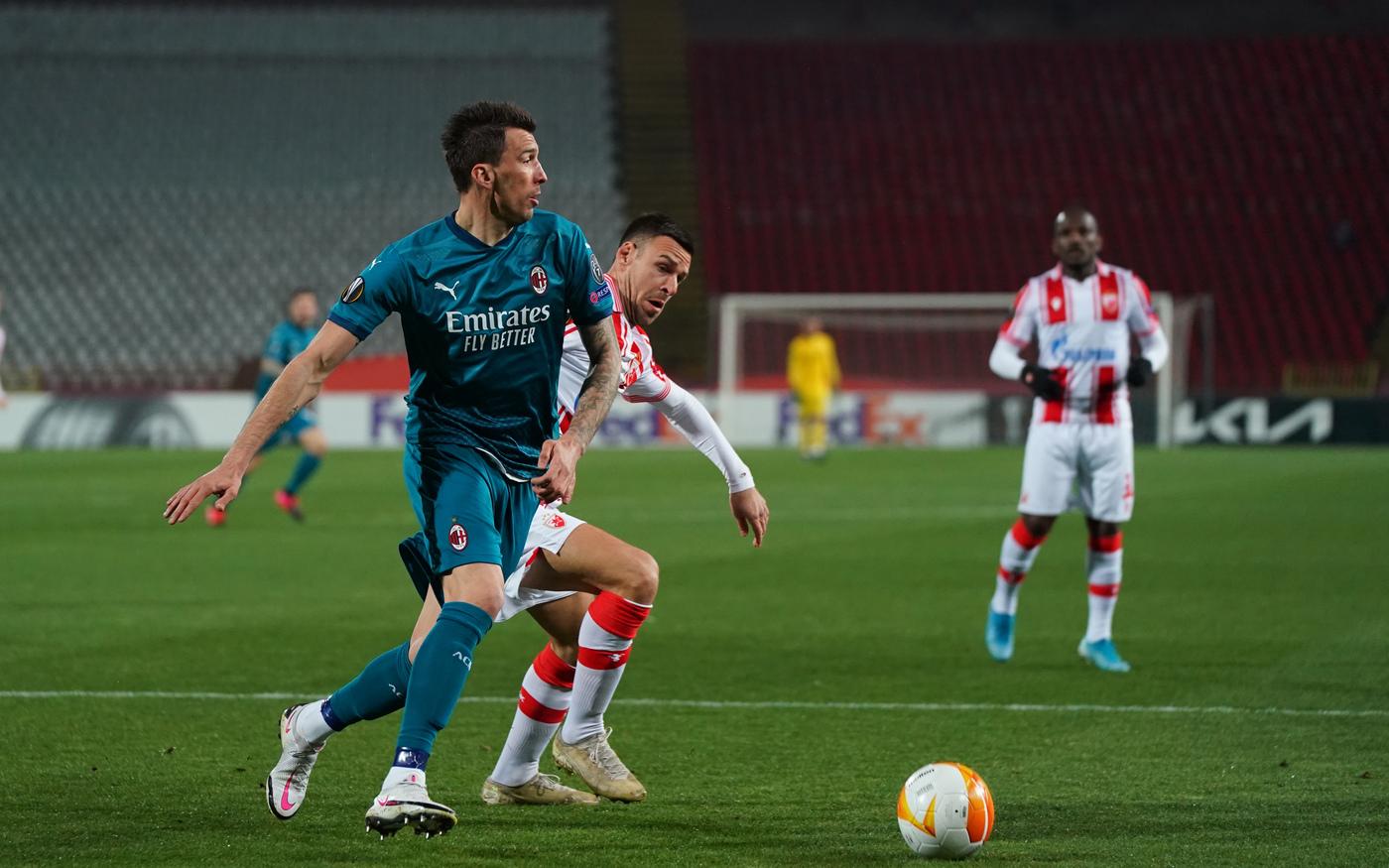 Stella Rossa vs Milan - Europa League, sedicesimi di finale