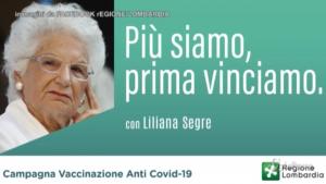 Liliana Segre testimonial in Lombardia